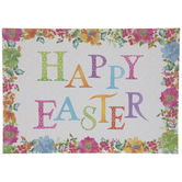 Happy Easter Paper Placemats