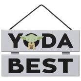 Yoda Best Wood Wall Decor