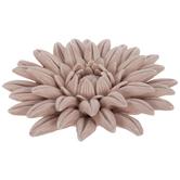 Matte Pink Layered Flower