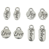 Inspirational Word Charms