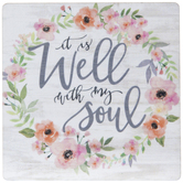 It Is Well With My Soul Wood Magnet