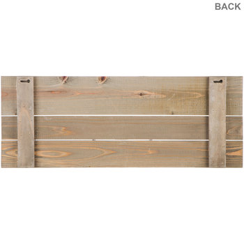 Welcome To Our Home Wood Wall Decor with Hooks