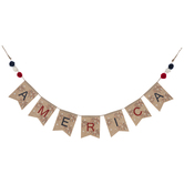 America Fireworks Banner