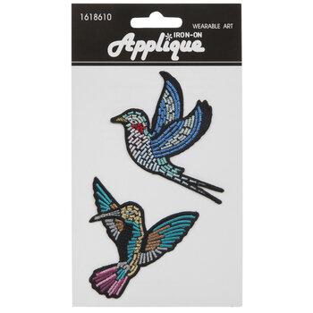 Bird Iron-On Appliques