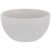 White Rope Textured Bowl