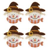 Scarecrow Felt Stickers