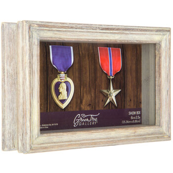 "Wood Shadow Box - 6"" x 3 1/2"""