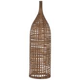 Woven Wicker Vase