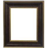 Gold Trimmed Wood Open Frame