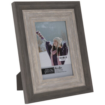 Two-Tone Wood Look Frame