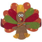 Turkey Felt Headband