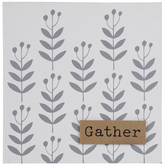 Gather Floral Wood Wall Decor