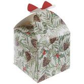 Holly & Greenery Treat Boxes