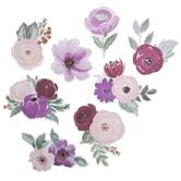 Watercolor Flower Stickers
