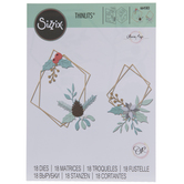 Sizzix Thinlits Geometric Winter Frame Dies