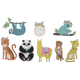 Funky Animals Stickers