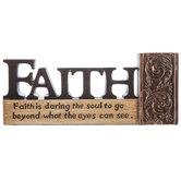 Faith Is Daring Decor