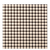 "Black & Cream Diamonds Scrapbook Paper - 12"" x 12"""