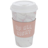 Up All Night Marble Paper Cups