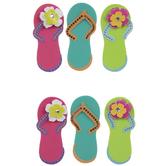 Flip-Flops 3D Stickers