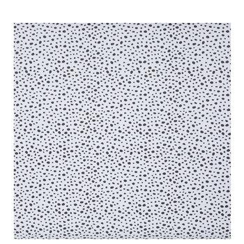 White & Black Spots Bulletin Board Paper
