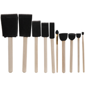 Assorted Foam Brushes Value Pack