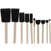 Assorted Foam Brushes Value Pack