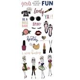 Elle Oh Elle Foil Stickers