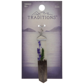 Purple Flower Suspension Pendant