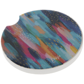 Abstract Paint Car Coaster