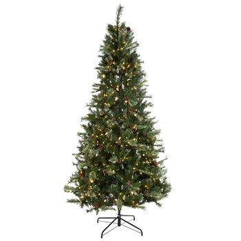 Mountain Cashmere Twinkle Pre-Lit Christmas Tree - 9'