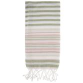 Sage & Blush Striped Kitchen Towel