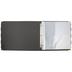 Black & White Striped 3-Ring Scrapbook Album - 12