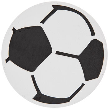 Soccer Ball Painted Wood Shape