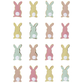 Bunny Tails 3D Stickers