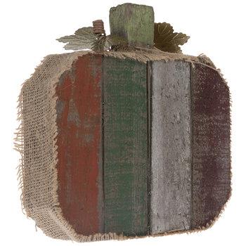 Rustic Wood Pallet Pumpkin
