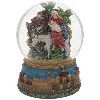 Holy Family Snow Globe