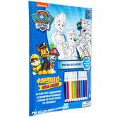 Paw Patrol Pop-Outz Coloring Kit