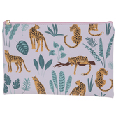 Leopards & Leaves Pouch