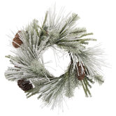 Frosted Pine Candle Ring