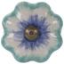 Blue Tie Dye Knob