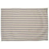 Cream & Gray Striped Placemat