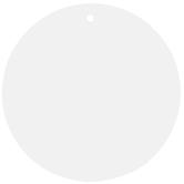 Circle Blank Tags