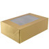 Gold Foil Cupcake Boxes