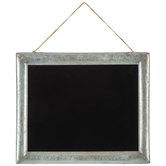 Galvanized Framed Chalkboard