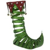 Glitter Metal Elf Boot