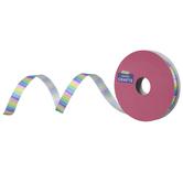 """Pastel Striped Single-Face Satin Ribbon - 3/8"""""""