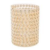 Inverted Circle Glass Vase