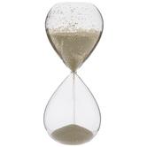 Gold Glitter Hourglass