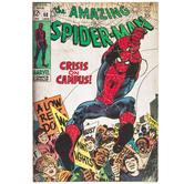 Amazing Spider-Man Comic Wood Wall Decor